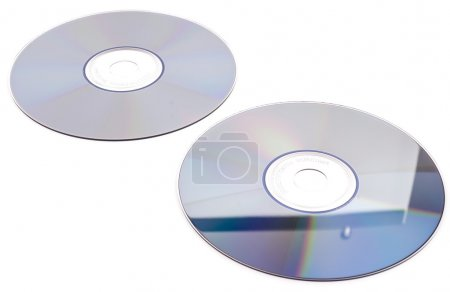 Cd-rom on white background