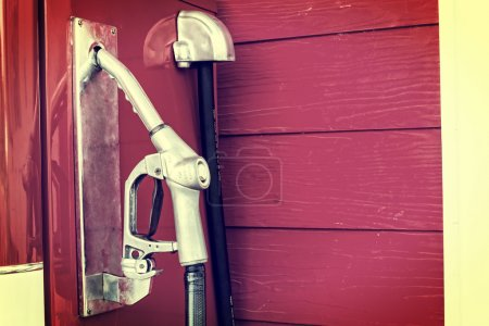 Photo pour Carburant essence vintage de Thaïlande - image libre de droit