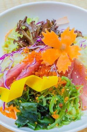 Salad tuna japanese style