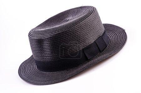 Black vintage women hat