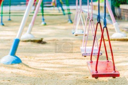 Foto de Oscilación del patio en el parque - Imagen libre de derechos