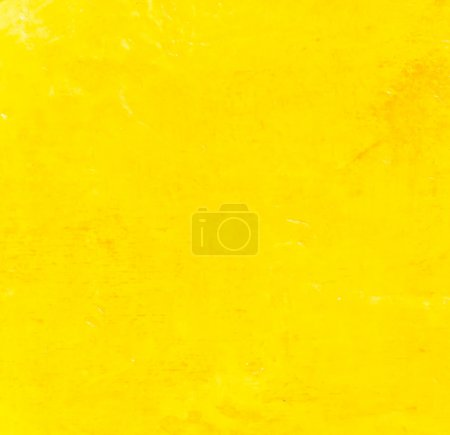 Photo pour Vieux fond jaune texture murale - image libre de droit