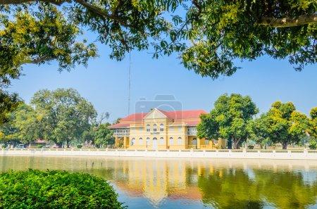 Photo pour Architecture Bang pa dans le palais de Thaïlande - image libre de droit