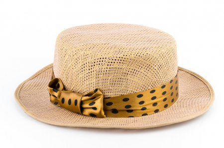Woman vintage hat
