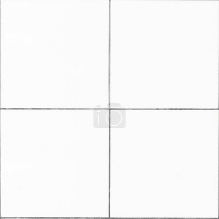 Photo pour Mur de texture carrelage blanc - image libre de droit