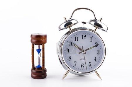Clock and sand clock