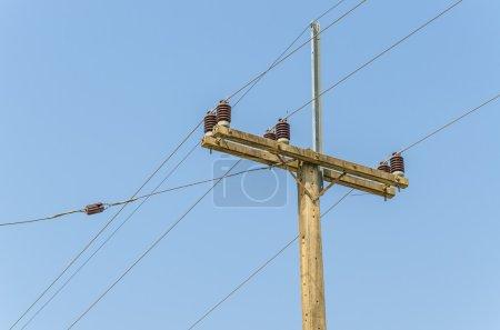 Electric post
