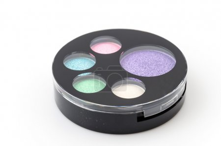 Isolated eye shadow makeup