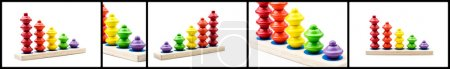 Photo for Tower toys - Royalty Free Image
