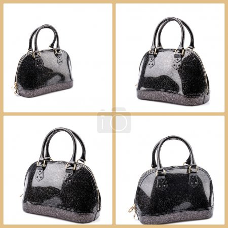 Handbag isolated white background