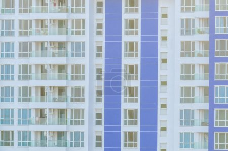 Photo for Windows office building background - Royalty Free Image