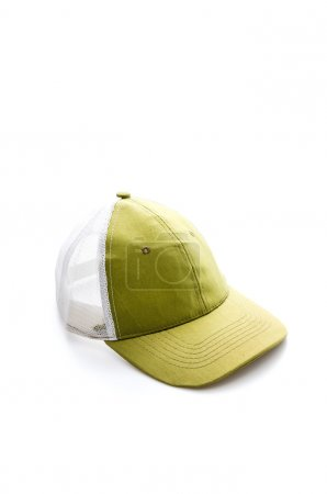 Cap on white background