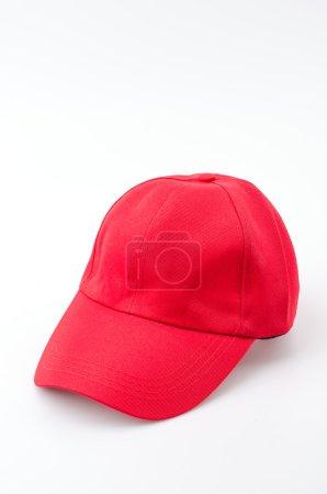 Baseball cap isolated white background