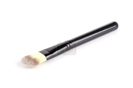 Makeup brush isolated white background