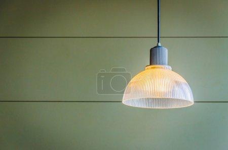 Photo pour Gros plan de la lampe - image libre de droit