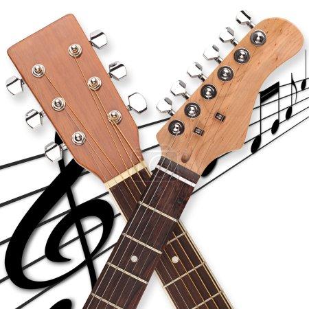 Guitar head duo