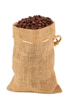 Photo pour Un dos rempli de grains de café - image libre de droit