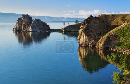 Kap Burhan auf der Insel Olchon am Baikalsee