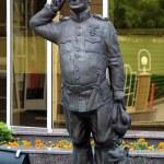 Donetsk, Monument to The Good Soldier Svejk - hero...