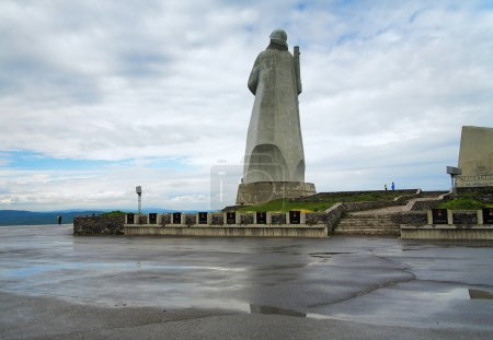 Memorial to the defenders of the Soviet Arctic in ...