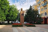 Monument to F.E. Dzerzhinsky in Krasnoyarsk, Russia