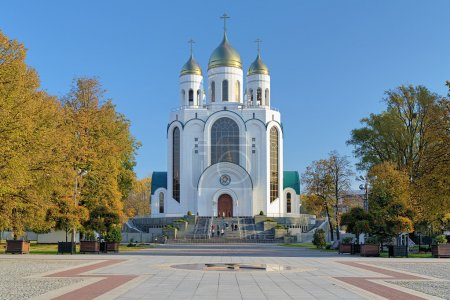 Cathedral of Christ the Saviour in Kaliningrad, Russia