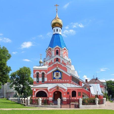 Church of the Intercession in Uzhhorod, Transcarpathia, Ukraine