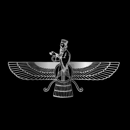Faravahar- Symbol of Zoroastrianism