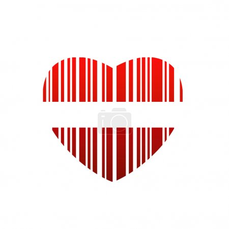Heart bar code