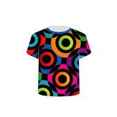 T Shirt Template- fractal rings