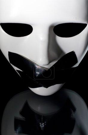 Verstummte Maske