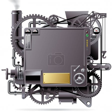 Vector isolated image of the complex fantastic mac...