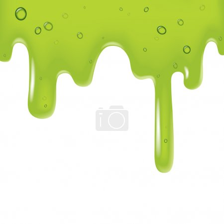 Green viscous liquid