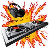 DJ control panel