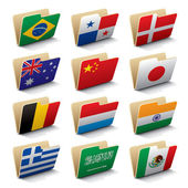 World folders icons