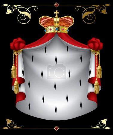 Illustration for Vector royal banner - Royalty Free Image