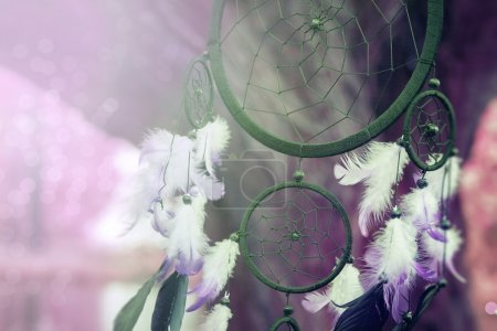 Photo for Photograph of a dreamcatcher - Royalty Free Image