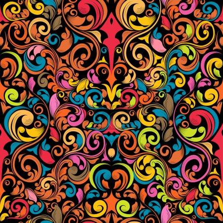 Groovy Seamless Pattern