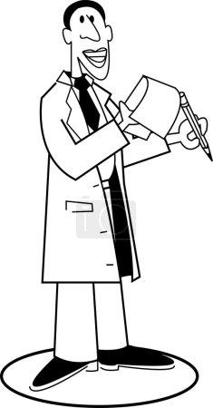 Cartoon doctor