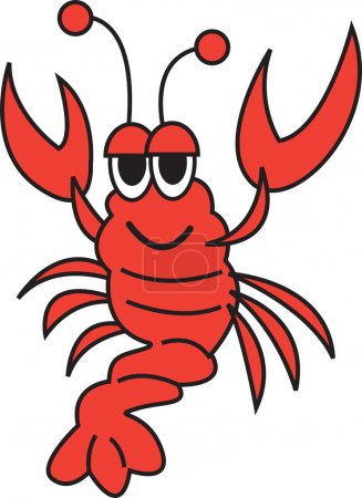 Happy Red Lobster