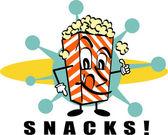Popcorn Snacks clip art