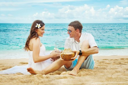 Couple oa a beach