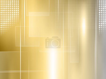 Abstract gold background - golden metal texture