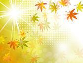 Podzimní pozadí pádu listy