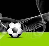 Abstract sports background - football flyer design