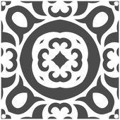 Absztrakt Seamless Pattern Mehndi stílusban