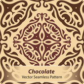 čokoládové vektorové bezešvé vzor