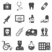 Vektorové ikony lékařské