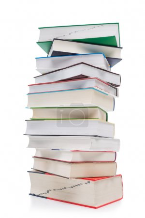 Large pile of books