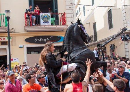 Festes de Gracia, City On Mahon, Menorca Island, Spain